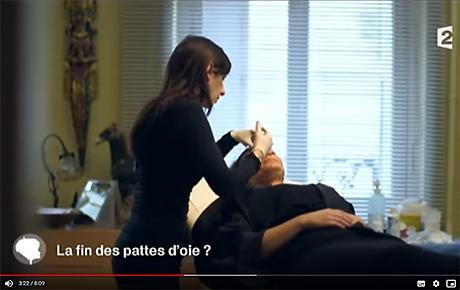 Vidéo : séance de botox (france2) - Dr Benouaiche