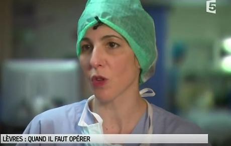 Vidéo : opération d'une fente labio-palatine (Pr Couly), France5 - Dr Benouaiche