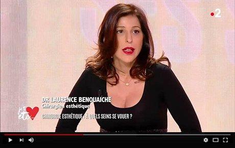 """Chirurgie : Quels Seins Choisir ? Interview, France 2 """"Je t'aime, etc."""""""