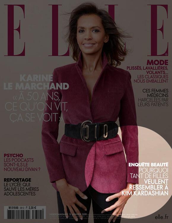 ELLE Magazine : Kim Kardashian