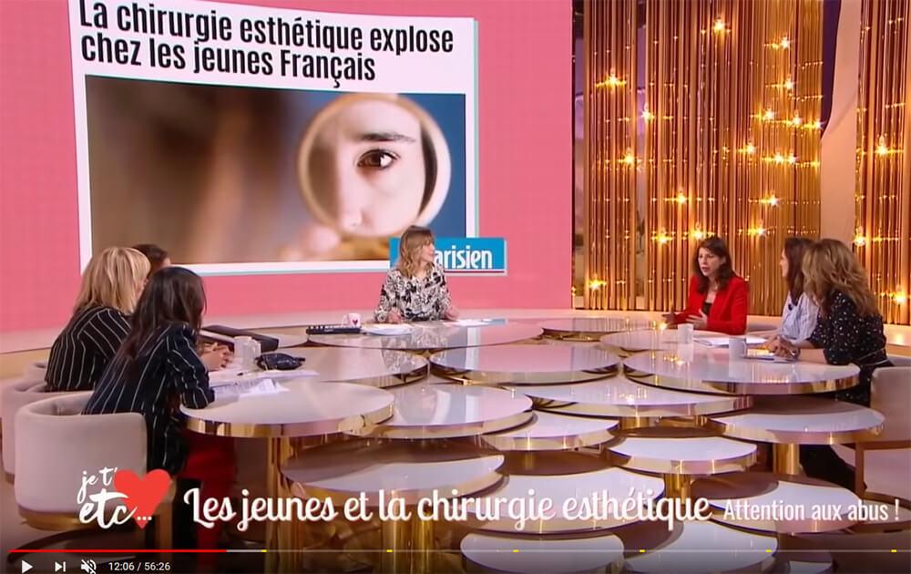 Je t'aime, etc. - France 2 : les jeunes et la chirurgie esthétique