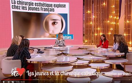 Je t'aime, etc. - France 2 (mars 2019): les jeunes et la chirurgie esthétique